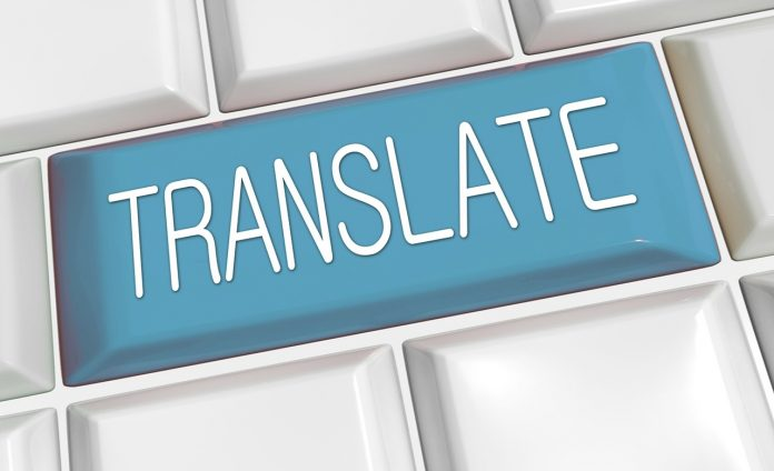 Arabdict dictionary for translating languages into Arabic